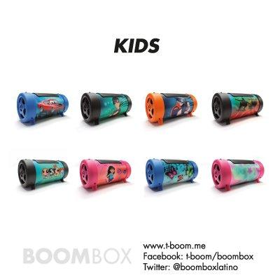 Boombox MP3 FM modelo Kids