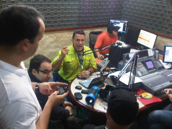 Cornetas Boombox con Elio Gutierrez