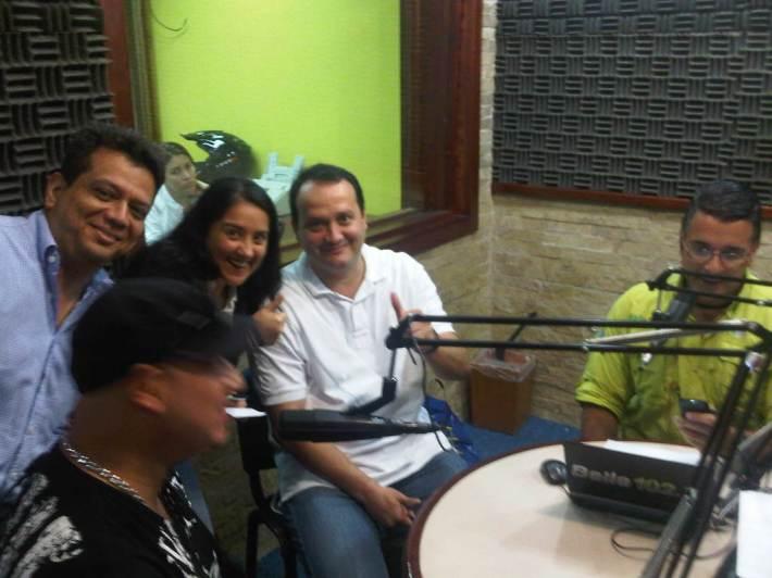 Cornetea Boombox en el programa de Elio Gutierrez