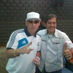 Joaquin (Baila 102.7 FM) con Cusculluela