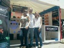Muestra el Stand de Boombox en la Exposición de Motociletas CCCT 2012
