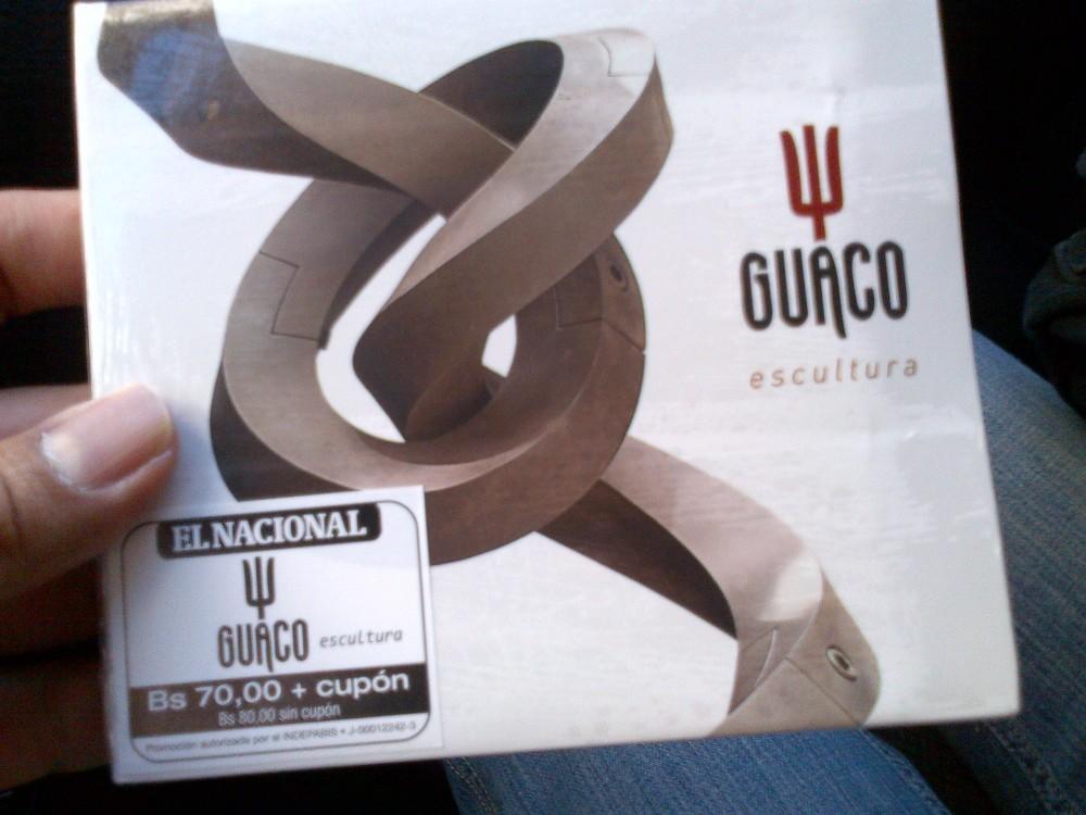 Guaco con nuevo CD